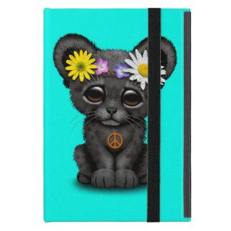 Cute Black Panther Cub Hippie Case For iPad Mini