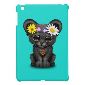 Cute Black Panther Cub Hippie iPad Mini Covers