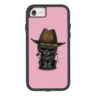 Cute Black Panther Cub Zombie Hunter Case-Mate Tough Extreme iPhone 8/7 Case
