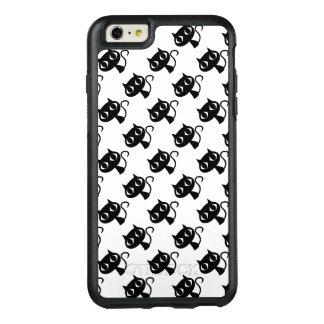 Cute black white cats patterns OtterBox iPhone 6/6s plus case