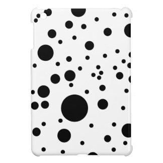 Cute Black & White Dalmatian Spots iPad Mini Case