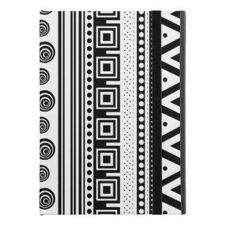 "Cute black white decorative aztec texture iPad pro 9.7"" case"