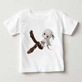 Cute Blond Girl Baby T-Shirt