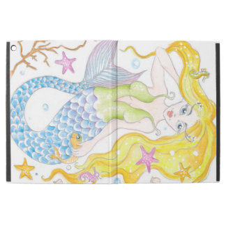"Cute Blonde Mermaid iPad Pro 12.9"" Case"