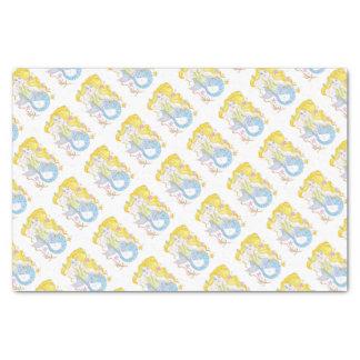 Cute Blonde Mermaid Tissue Paper