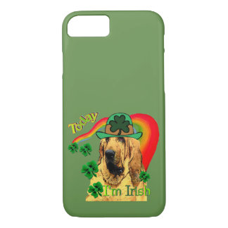 Cute Bloodhound St Patricks Day iPhone 8/7 Case