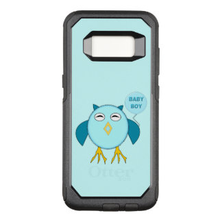 Cute Blue Baby Boy Owl Phone Case