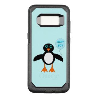 Cute Blue Baby Boy Penguin Phone Case