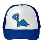Cute Blue Baby Dinosaur Trucker Hat