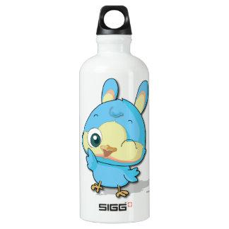 Cute Blue Bird Funny Cartoon Character Bottle SIGG Traveler 0.6L Water Bottle