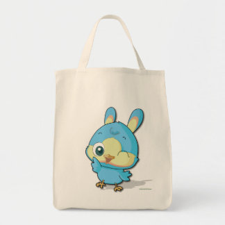 Cute Blue Bird Funny Cartoon Character Kawaii Bag