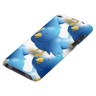 Cute Blue Birds iPod Case-Mate Cases