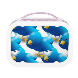 Cute Blue Birds Lunch Boxes
