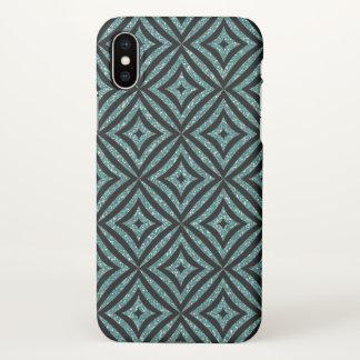 Cute Blue Girly Custom iPhone X Matte Case
