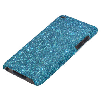 Cute Blue Glitter Sparkles iPod Touch Cases