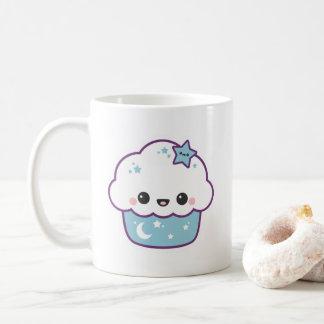 Cute Blue Space Cake Coffee Mug