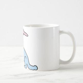 Cute Blue Wolf - Customise friendly Coffee Mug