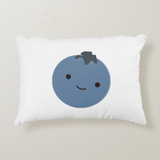 Cute Blueberry Accent Pillow