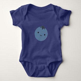 Cute Blueberry Baby Bodysuit