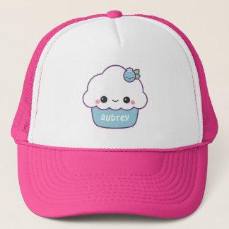Cute Blueberry Cupcake Trucker Hat
