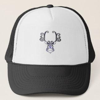 Cute Bluenoser Blue Nose Reindeer Christmas Shirt Trucker Hat