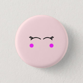 Cute Blushing Button