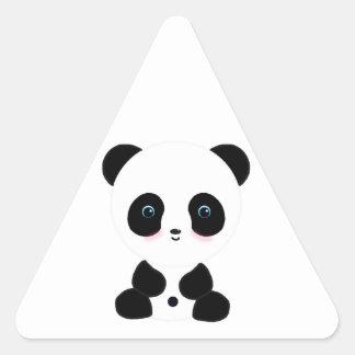 Cute Blushing Panda Bear Stickers