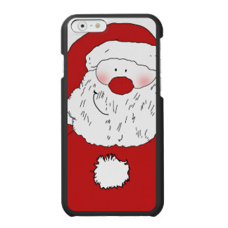 Cute Blushing Santa Incipio Watson™ iPhone 6 Wallet Case
