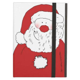 Cute Blushing Santa iPad Air Case
