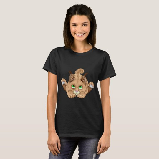Cute Bobcat Kitten T-Shirt