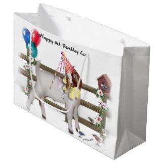 Cute Boer Birthday Goat Gift Bag