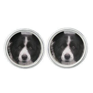 Cute Border Collie Cufflinks