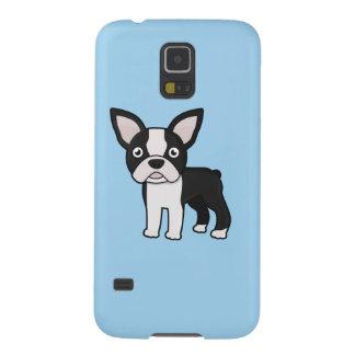 Cute Boston Terrier Galaxy S5 Cases