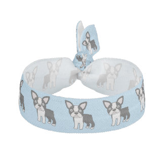 Cute Boston Terrier Hair Tie