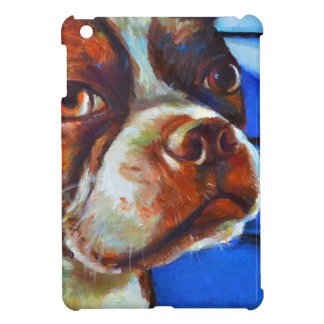 Cute Boston Terrier iPad Mini Case