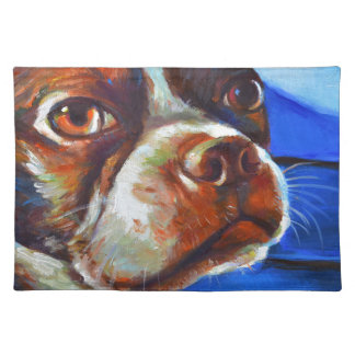 Cute Boston Terrier Placemat