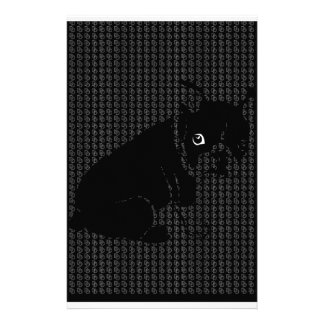 Cute Boston Terrier puppy Customized Stationery