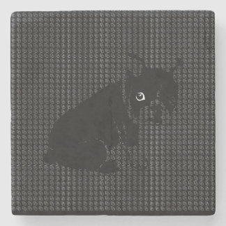 Cute Boston Terrier puppy Stone Coaster