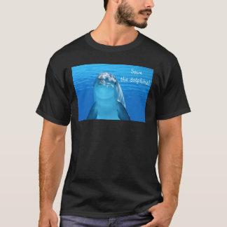 Cute Bottlenose Dolphin underwater T-Shirt