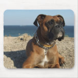 Cute Boxer Dog Mouse Pad