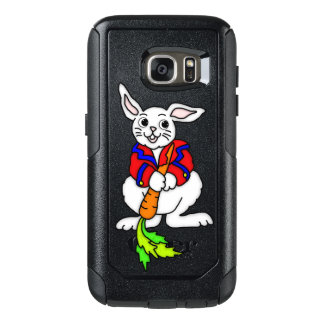 Cute Boy Bunny OtterBox Samsung Galaxy S7 Case