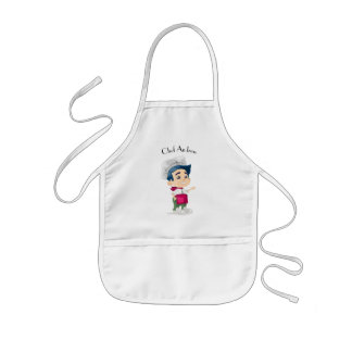 Cute boy chef|| Personalized Kids Apron