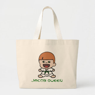 Cute Boy's Karate Tote Bag