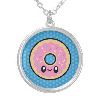 Cute Breakfast Food donut necklace
