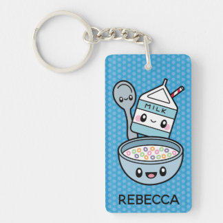Cute Breakfast Food keychain