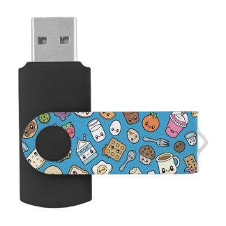 Cute Breakfast Food USB flash drive