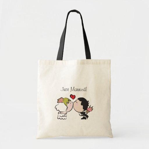 Cute Wedding Gifts For Bride And Groom : Cute Bride and Groom Wedding Gift Bags Zazzle