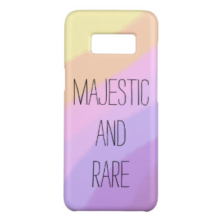 cute bright neon brushstrokes unicorn colors Case-Mate samsung galaxy s8 case