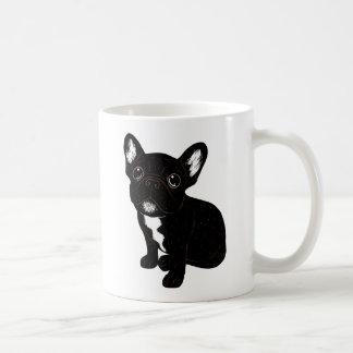 Cute Brindle Frenchie Puppy Coffee Mug