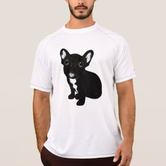 Cute Brindle Frenchie Puppy T-Shirt